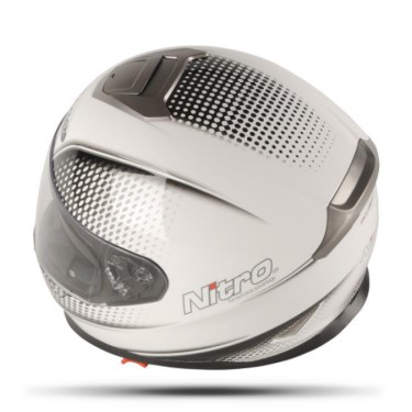 Nitro Каска за мотор NP1100-F DVS Synapse White (Full Face)