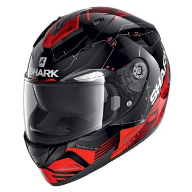 Shark Каска за Мотор Ridill Mecca (Black/Red)